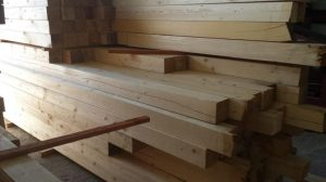 Drewno strugane suche
