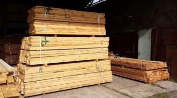 drewno konstrukcyjne suche